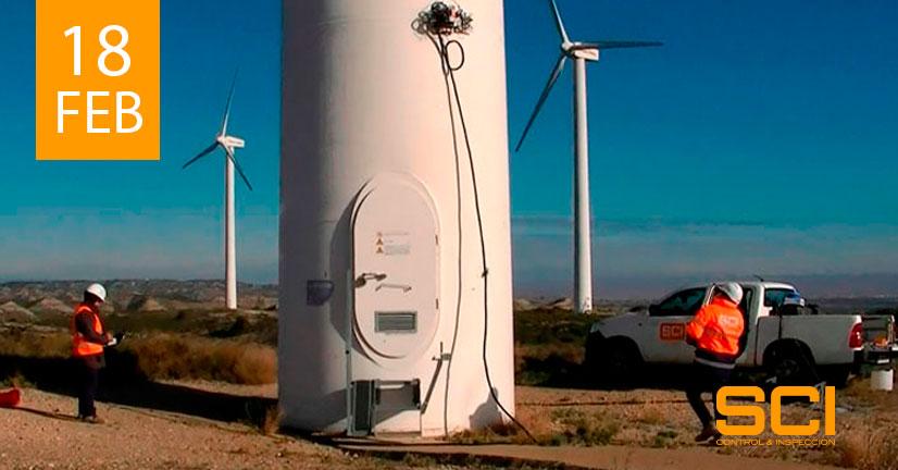 ensayos no destructivos aplicados a torres eólicas